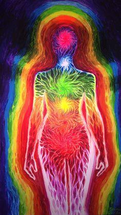 Chakra energy and aura by CORinAZONe