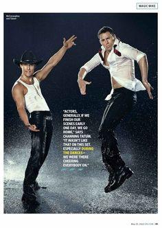 Channing Tatum & Matthew McConaughey !!