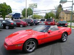 """1990 Chevrolet Corvette  ONLY 82,308 MILES! LOCAL TRADE! V8! AUTOMATIC! 17"""" CHROME WHEELS! POWER SEATS! ABS BRAKES! CRUISE! CD! FOG LIGHTS! SWEET RIDE! COME CHECK IT OUT TODAY! BOYLE AUTO SALES HAS BEEN A FAMILY OWNED BUSINESS FOR OVER"""