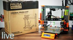 Part 2 here https://youtu.be/-Lq3BLgy-cw Josef Prusa sent me two of the brand-new Prusa i3 MK2 - one ready to go and one as a full kit! We'll start with the ...