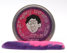 Amethyst Blush - Heat Sensitive Hypercolors Putty - Crazy Aaron's Thinking Putty has been extremely popular among kids and adults alike! This one in particular changes colors from purple to pink just from being played with! Stop by Grandrabbit's for a large selection of colors and styles in this fun putty.