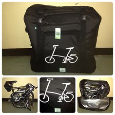 A transport bag for my B ( Bike Icon, Moutain Bike, Bicycle Race, Brompton, Bike Accessories, New Hobbies, Tricycle, Transportation, Cycling