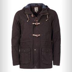 TS Heritage Mens Khaki Hooded Gale Parker Jacket Parker Jacket, Parka, Hoods, Raincoat, Blazer, Jackets, Men, Shopping, Fashion