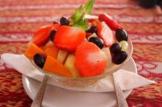 #FruitSalad. Wouldn't you love to taste it?