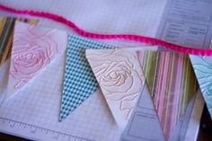 How to make a whimsical pennant banner | Magazines.com #DIY