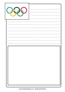LOTS of Olympics printables for kids WQ3WQ