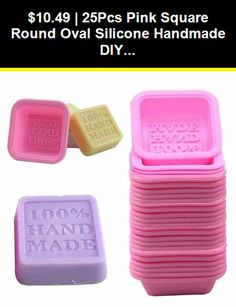 25Pcs//Set Silicone Oval Soap Molds Baking Mold Cupcake Liners Handmade Mould