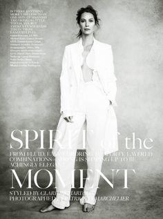 cool Vogue UK April 2014 | Christy Turlington by Patrick Demarchelier  [Editorial]