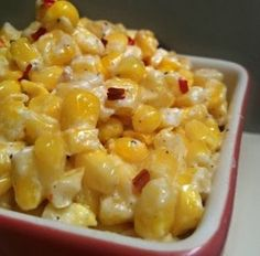Microwave Cream Cheese Corn - My wife has more requests for this recipe than any other. Our family thinks it's the greatest thing since sliced bread!
