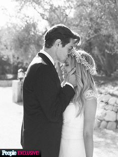 All the Details on Ashley Tisdale's 'Rustic and Romantic' Wedding http://www.people.com/article/ashley-tisdale-wedding-photo