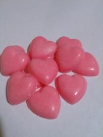 Strawberry Mini Hearts Soy Candle Tart Melts