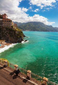 Atrani, Amalfi Coast, Campania, Italy | #GuiltlessPleasures #SmirnoffSorbet