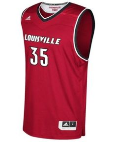 Nike Men's Louisville Cardinals Replica Basketball Jersey - Red XXL