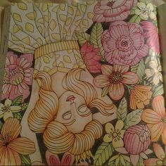 Instagram media denka.denka - #coloringbook #coloringforadults #sagolikt #sagoliktenmålarbok #emelielidehalloberg