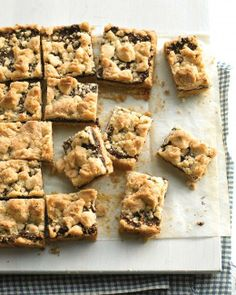 Fig Crumble Bars Recipe