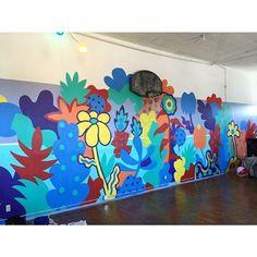 Laura Geiselman (@laurageiselman) | Instagram photos and videos Coffee Shop Design, Instagram Story, Instagram Posts, Murals, Highlights, Photo And Video, Wall Art, Videos, Photos
