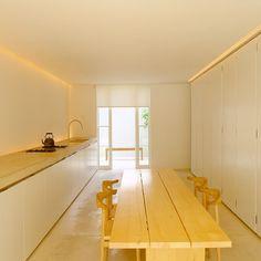 John Pawson kitchen. Photography by ken hayden