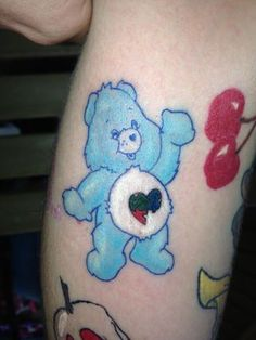Care Bear autism tattoo :)