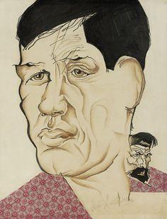 Portrait of the Poet Boris Kornilov - Nathan Altman