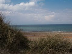 Tranum Strand.  View from the dunes over the beach toward the north.  Photo by John Warcelmann.