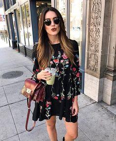 WEBSTA @ zaraobsession - ZARA  dress #zara #floral #dress #fashion #outfit #ootd #sunday