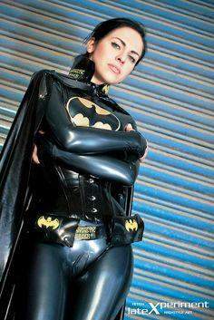 The lovely Alexandra Corneille as Batgirl for lateXperiment. Photographer is Raymond Kerrin Larum.
