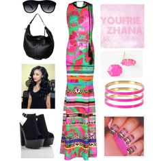 Summer #youfriezhana by youfriezhana-stardoll on Polyvore featuring polyvore, fashion, style, Alexander McQueen, Kendra Scott, Kate Spade, William Rast and Identity