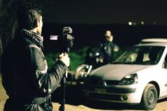 Κινηματογραφικό Σεμινάριο -- στο Cinemarian με τον Ανδρέα Κατσικούδη και τον Γιάννη Παρασκευόπουλο -- φωτογραφία: Κώστας Παρούσης