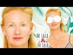 Weg mit Augenringen & Tränensäcken * Die Weltbeste Augenmaske * Lymphdrainage * frische Augen - YouTube Face Yoga, Aloe Vera Gel, Fashion Sewing, Diy Beauty, Yoga Poses, Anti Aging, About Me Blog, Eyes, Bikini