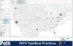 Aprenda a criar um Map and Pie chart no Tableau.