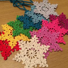 Other snowflake colours now available