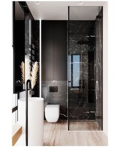 Space Saving Toilet Design for Small Bathroom - polat kos Bathroom Design Luxury, Bathroom Layout, Modern Bathroom Design, Modern House Design, Home Interior Design, Bathroom Ideas, Modern Toilet Design, Interior Design Toilet, Toilet And Bathroom Design