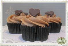 Sweet Mania: Mini cupcakes de chocolate y praliné