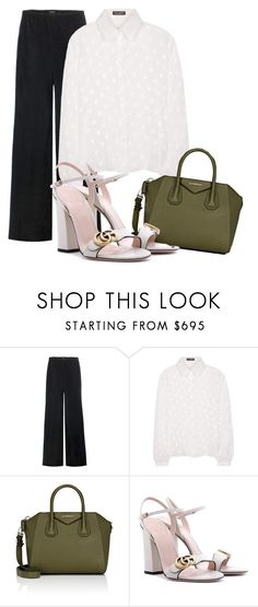 """""""Untitled #374"""" by xjustinv on Polyvore featuring The Row, Dolce&Gabbana, Givenchy and Gucci"""