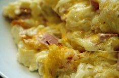 Cheesy Ham and Hash Brown Casserole | AllFreeCasseroleRecipes.com