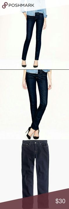 J.Crew matchstick jeans J. Crew matchstick jeans in classic wash. Excellent condition. Inseam 31 inches. J. Crew Jeans