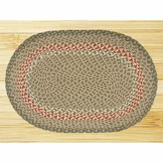 EarthRugs C-09 Green/Burgundy Rug Rug Size: Oval 4' x 6' by Earth Rugs. $115.93. 06-009 Rug Size: Oval 4' x 6' Features: -Technique: Braided.-Material: Jute.-Origin: Bangladesh. Construction: -Construction: Handmade. Color/Finish: -Color: Green, Burgundy. Dimensions: -Pile height: 0.2''.
