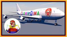 CRAZY CLOWN AIRLINES! - Car Clown and Masha - YouTube Videos for Kids!
