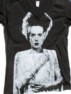 Bride of Frankenstein Shirt from Creepshow Apparel on Storenvy