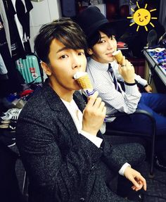 Donghae & Yesung! Super Junior Suju ahh looove having Yesung back…