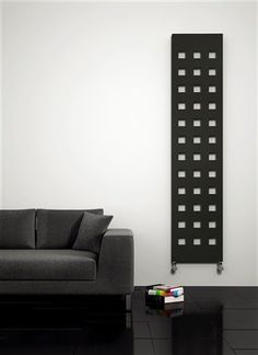 Reina Terano, Flat Designer Vertical Anthracite in height, dual fuel or electric - Prices from Inclusive of VAT and delivery Vertical Radiators, Electric Radiators, Towel Radiator, Designer Radiator, Heated Towel Rail, Central Heating, Bathroom Furniture, Home And Garden, Modern