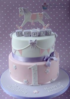 Rocking Horse Cake