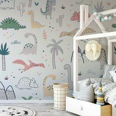 Gallines - Children's Dinosaur Wallpaper Mural