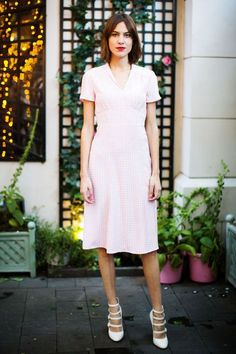 Alexa Chung loves this shoe style.