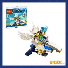 LEGO LEGENDS OF CHIMA EWAR ARCO FIGHTER set 30250 LOC - RARE NEW SEALED SPCBOT #legoEbay #ebay #lego #chima #legoChima