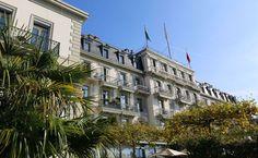 Hôtel des Trois Couronnes in #Vevey #Switzerland  #troiscouronnes @myswitzerland