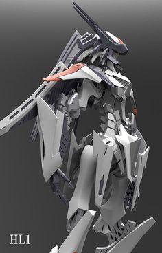 Cyberpunk, Fighting Robots, Cool Robots, Sci Fi Armor, Gundam Art, Mecha Anime, Super Robot, Robot Design, Sci Fi Characters