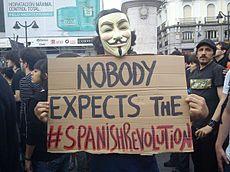Protestas en España de 2011-2012 - Wikipedia, la enciclopedia libre