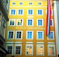 http://www.ente.at  Mozarts Geburtshaus: Kultururlaub in Salzburg.