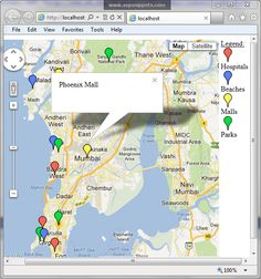 Google Maps V3: Display Colored Markers for particular type of location Crystal Reports, Sql Server, Markers, Maps, Display, Google, Color, Colour, Sharpies